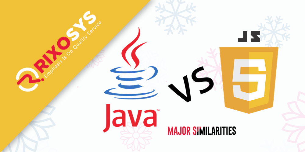 JAVA VS JAVASCRIPT