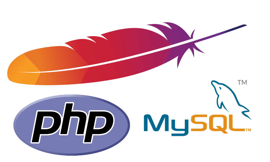 How to install apache and mysql and php on an ubuntu server